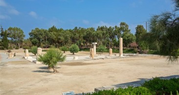 The ancient sanctuary of Dionysus at Yria