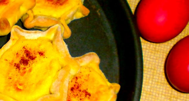 For Easter: Delightful Cheese-Filled Melitinia