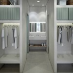 Wardrobes and sink