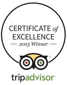Kedros Villas wins Trip Advisor Certificate of Excellence 2015