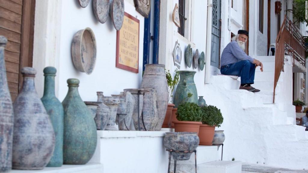 Naxos Apiranthos village