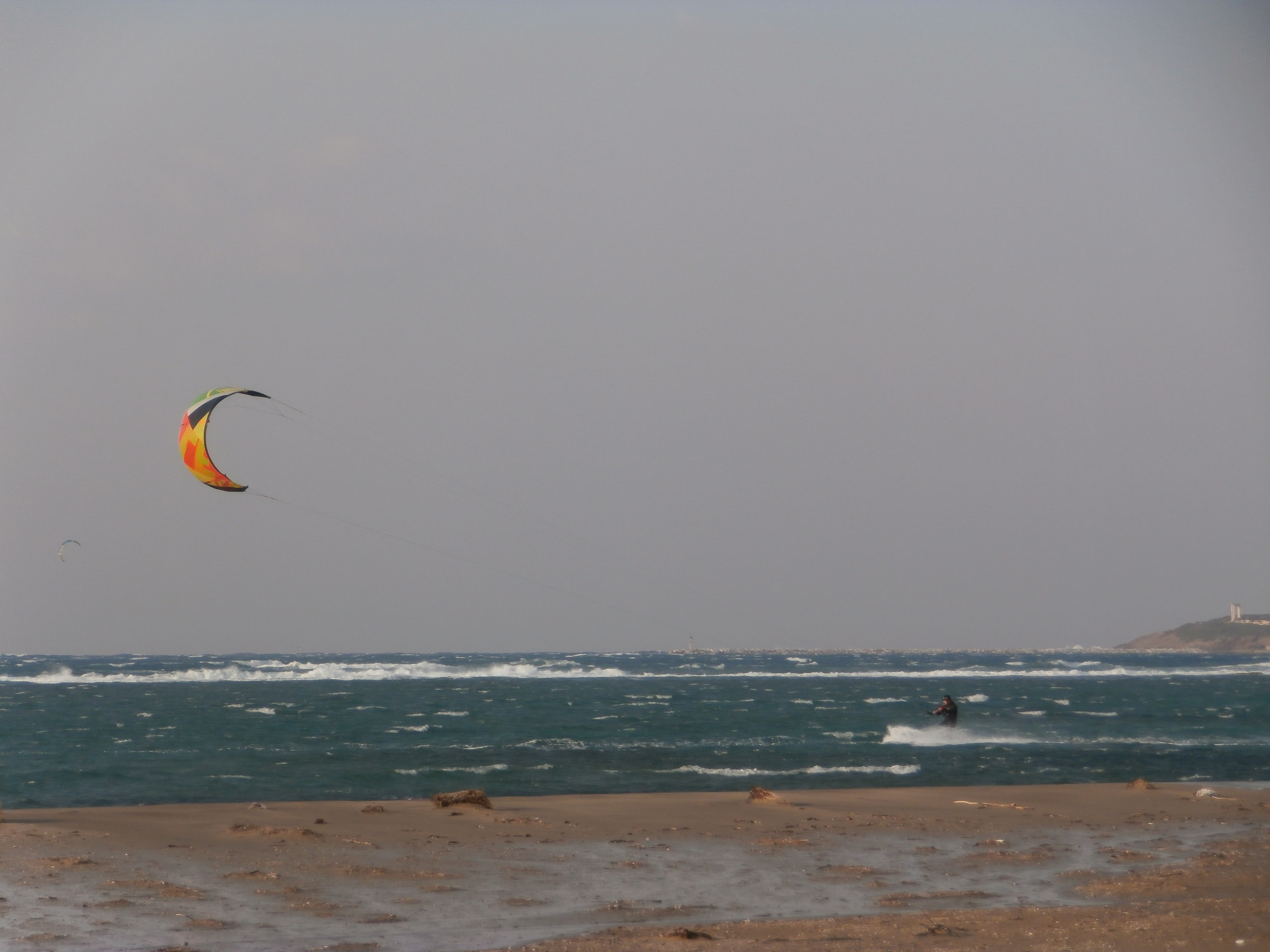 Kitesurfing in Laguna