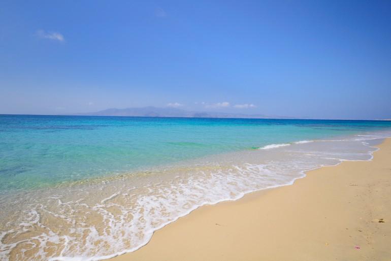 Plaka beach in Naxos among best Mediterranean Beaches