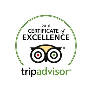 Kedros Villas wins Trip Advisor Certificate of Excellence 2016