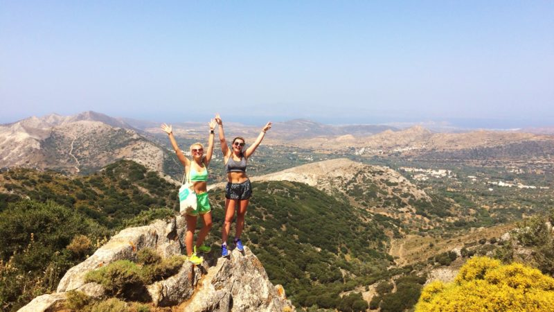 Lauren Wigham in Naxos, The Journal, Intrepid Travel